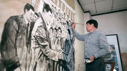 他结合了徐悲鸿和黄胄画出了最有力量的鞍马人物 艺视中国 袁辉
