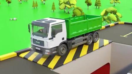 汽车总动员玩具动画之超级马里奥开大卡车动画视频