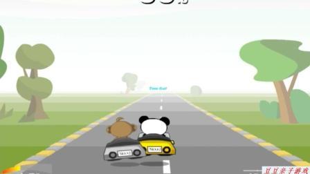 宝宝巴士 动物乐园之认识各种卡通小动物赛车动画玩具视频
