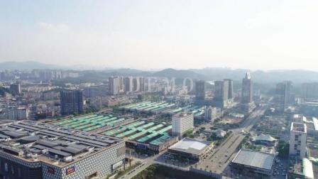 深圳航拍素材 平湖华南城航拍素材 4K高清