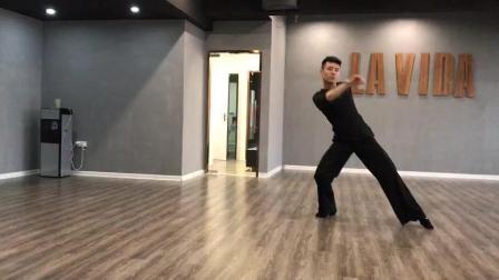 南京lavida舞蹈学校拉丁舞视频-《如果这就是爱情》