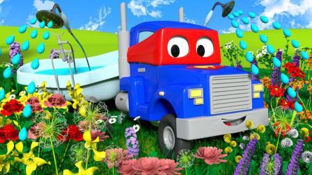 汽车城之超级卡车 第44集 园艺卡车