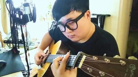 《梦醒时分》阳仔玩吉他 cover 翻唱 简单的吉他弹唱