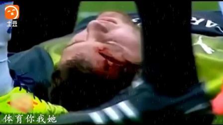 足球暴力犯规集锦, 断子绝孙脚只是小菜, 德罗巴被直接踢昏