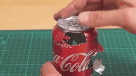 老外网上买了一试管镓, 随便给我一个铝罐都能玩一天