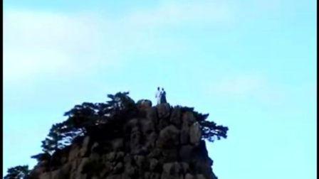 朝鲜(国家)的演员在高山上拍电影