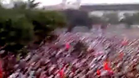 感动奥运圣火,感动广州天河体育中心