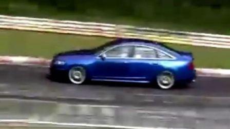520马力的奥迪 RS6快感体验
