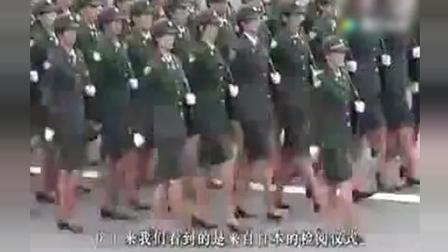 看日韩阅兵如何被中国解放军完爆, 中国阅兵到哪里都是砸场子去的