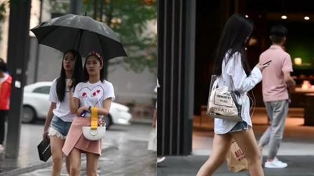 街拍美女: 做一个城市中特别的你, 那么时尚那么耀眼!