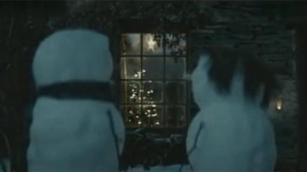创意广告《旅程》: 一对雪人情侣间的温情小故事