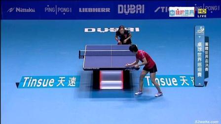 兵乓球世界杯女团决赛 中国v朝鲜之08