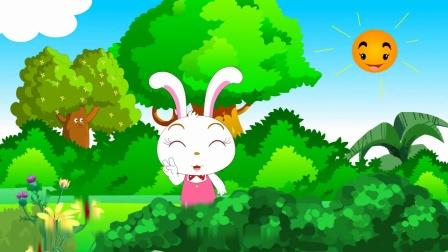 益智儿歌之小白兔白又白