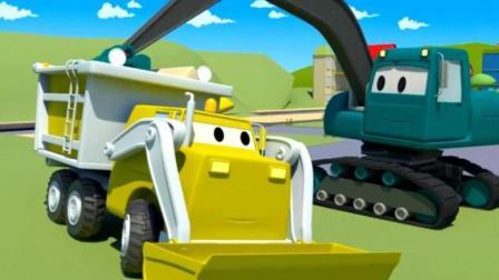 汽车总动员玩具 赛车总动员视频 挖掘机之农场拖拉机