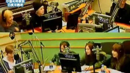 [联合制作]110425.KBS.Kiss The Radio.f(x)回归特辑[全场中字]