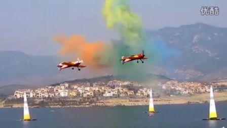 2011莱芜国际航空节—苏26 苏31编队起飞