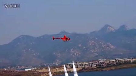 2011莱芜国际航空节—电视台航拍直机通场
