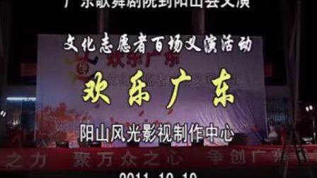 欢乐广东志愿者义演晚会在阳山举行