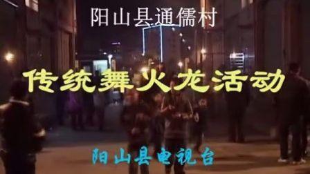 阳山通儒村舞火龙(白话)