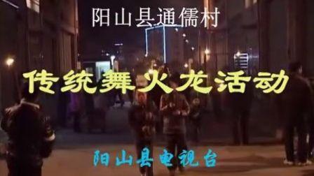 阳山通儒村舞火龙(普通话)