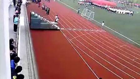2012合肥学院运动会入场仪式