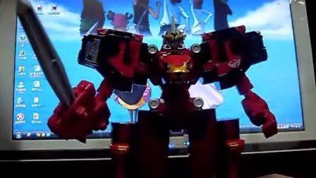 特命战队CB-01 DX合体机器人 Go-Buster Ace