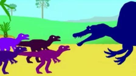 恐龙玩具视频 恐龙总动员 恐龙世界动画片