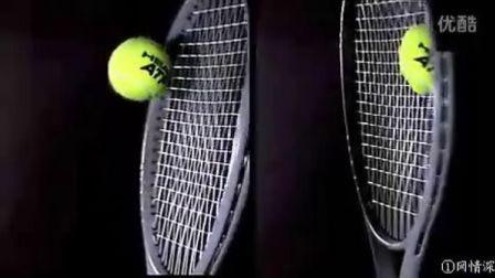 网球拍变形--击球瞬间