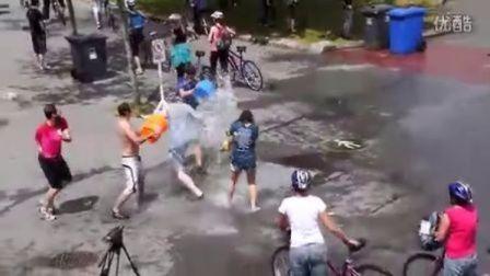 温哥华大水仗2012