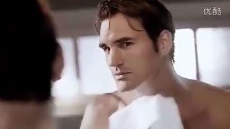 费德勒2012吉列Gillette剃须刀广告