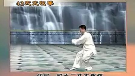 42式杨氏太极拳竞赛套路(正反向)演示