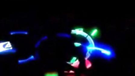 北京红球明艺  荧光舞