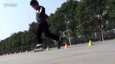 跟着乐乐学轮滑_第6课_儿童轮滑教程