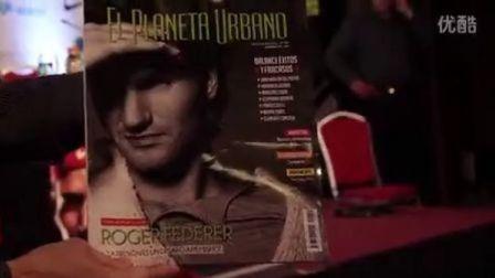 2012费德勒在阿根廷表演赛期间的各种花絮