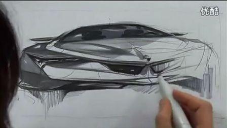 汽车手绘草图201212