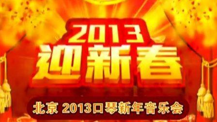 著名口琴家杨乐 刘春林在北京参加2013年口琴新年音乐会
