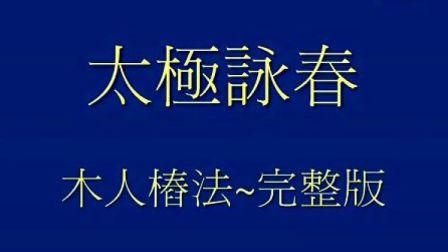 太极咏春拳 木人桩法