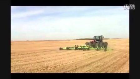 恩宝742型灭茬机与割草机在小麦地的应用