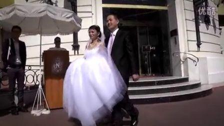 小潘小静2012在尼斯度蜜月
