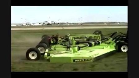 大型割草机在机场中的应用