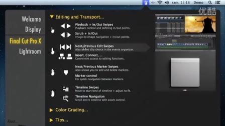 iPad和Trackpad 控制 FCPX和Lightroom的软件The Touch