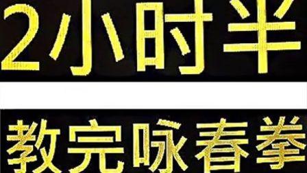 咏春拳自学大全-视频