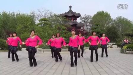 昌邑市石埠旗元广场舞《爱的世界只有你》