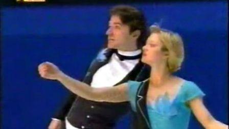2000-2001 GPF Berezhnaya Sikharulidze LP 1 Chaplin Medley