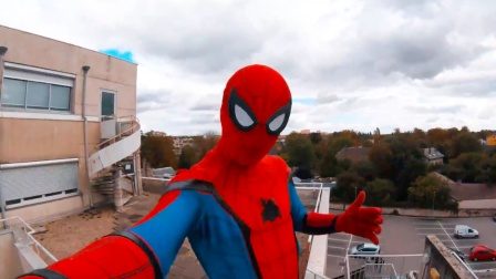 Hi Spiderman!第一视角体验刺激跑酷