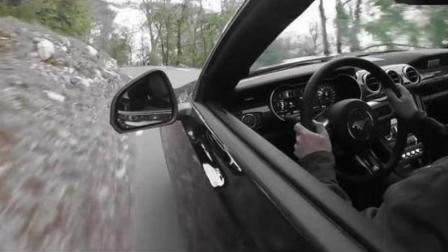 2018款福特野马, 5.0 V8发动机, 山路狂飙, 惊险刺激