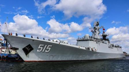 中国军舰到达欧洲, 德国人这一比才明白英法派到南海的军舰有多糟