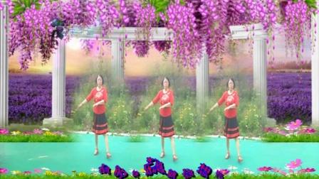 凤之韵广场舞《我的快乐就是想你》制作凤之韵