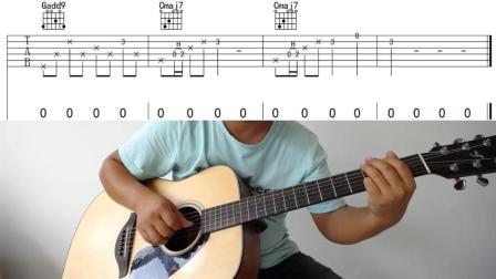 电影《心花路放》插曲《去大理》吉他弹唱教学4