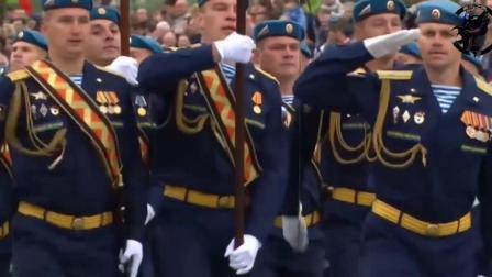 中国仪仗队参加白俄阅兵式, 在第二方阵出现, 彰显我军气势